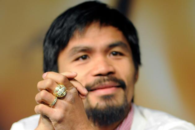 Manny Pacquiao May Visit Floyd Mayweather Jr. in Jail to Discuss Future