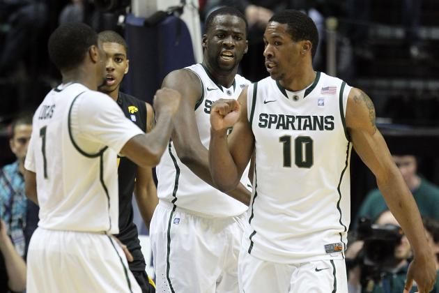 Ex-Michigan State Hoopsters Brandon Wood, Delvon Roe