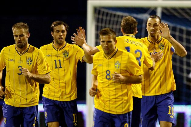 Euro 2012 Schedule: Upsets Waiting to Happen in Group Play