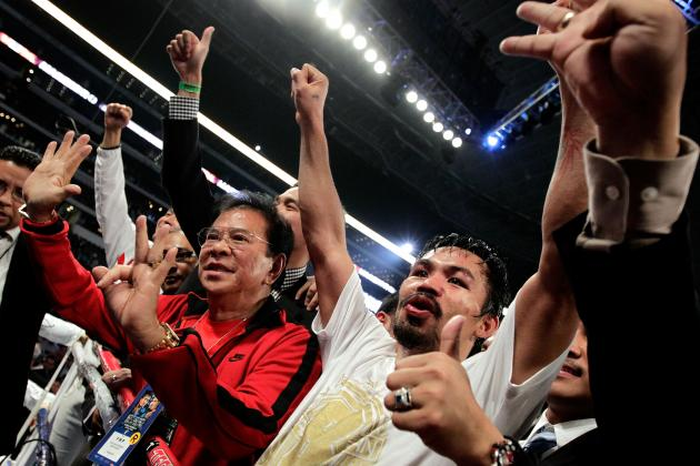 Pacquiao vs. Bradley: Pac-Man Will Outlast Desert Storm's Best Effort