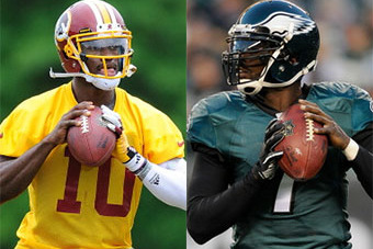 Michael Vick vs RG3: Where Are the NFC East QBs Alike, Where Are They Different?