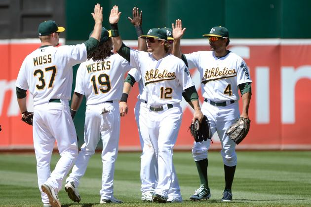 Oakland A's Use Strong Offense and Solid McCarthy as They Thump Texas 7-1
