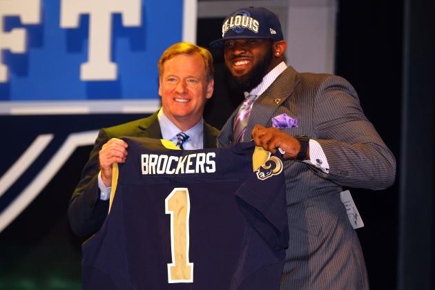 St. Louis Rams Sign First-Round Draft Pick Michael Brockers