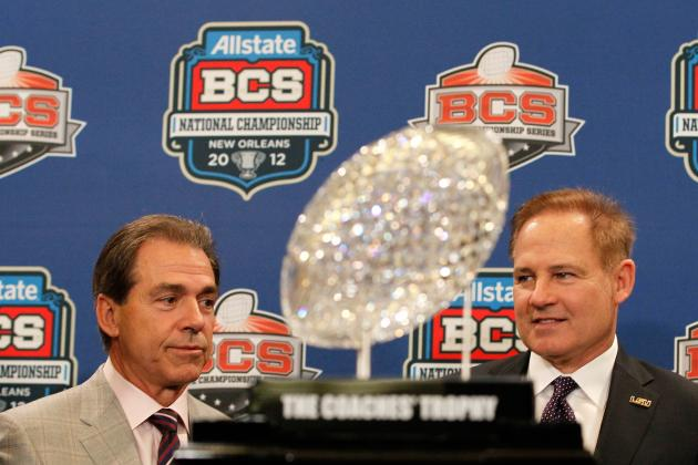 Alabama Football: Why Saban Will Push Les Miles out of the SEC