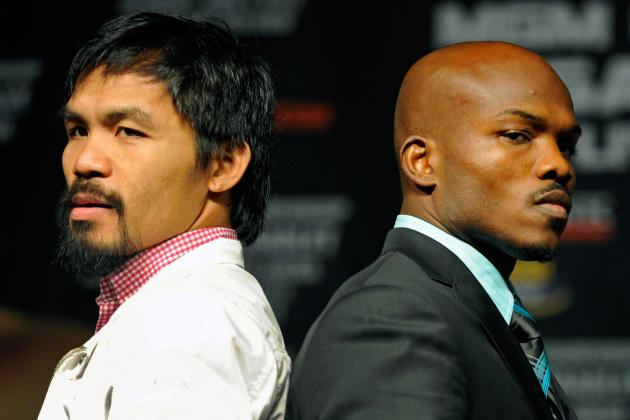 Pacquiao vs. Bradley Odds: Why No Line Is Worth Betting Desert Storm