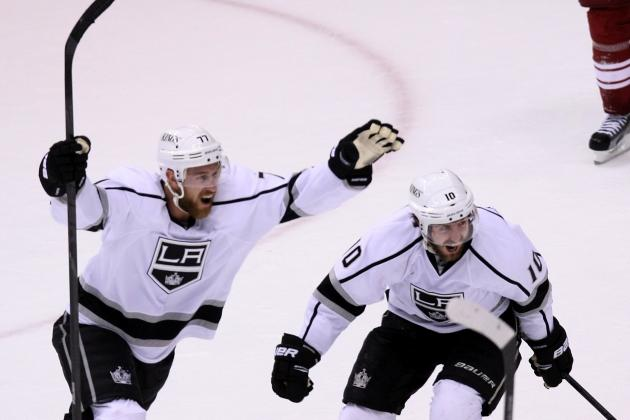 Stanley Cup Final 2012: Richards, Carter, Ex-Flyers Impacting Kings' Playoff Run