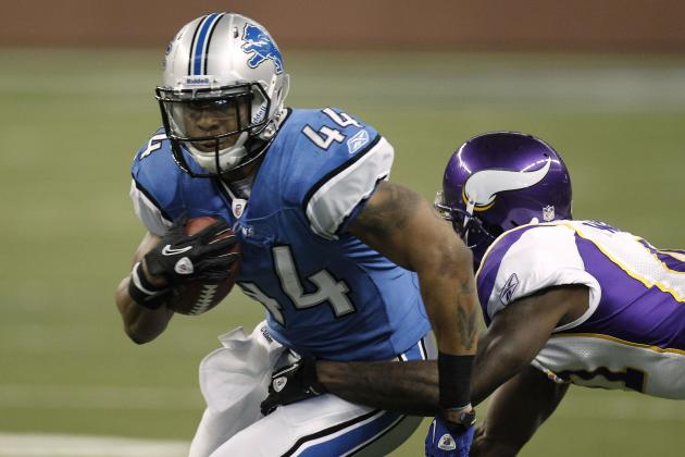 Detroit Lions Should Look to Change the Role of Running Back Jahvid Best