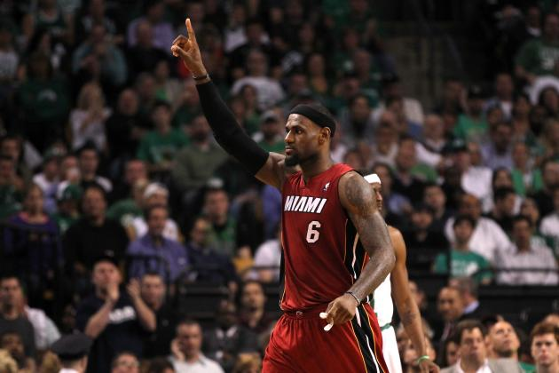 LeBron James: LBJ Quiets Boston Crowd and Proves Who the Heat Belong to
