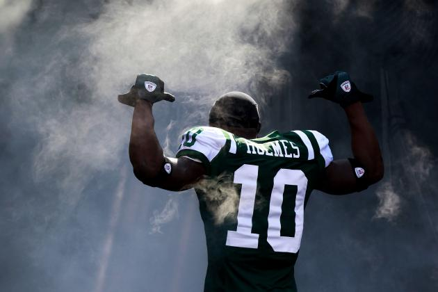 Santonio Holmes Picking Up Where He Left off Not a Good Sign for the Jets