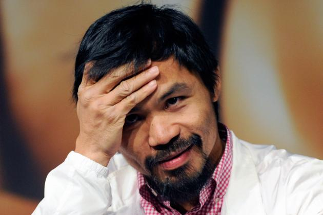 Pacquiao vs. Bradley: Why Fight Is a Lose-Lose for Pac-Man