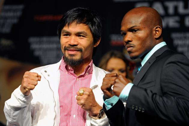Manny Pacquiao vs. Timothy Bradley: Start Time, Live Stream and Fight Card