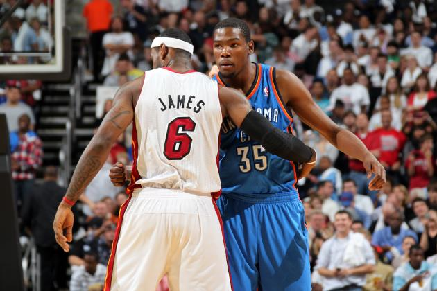 Game 7: Kevin Durant Has to Be Rooting for LeBron James to Win