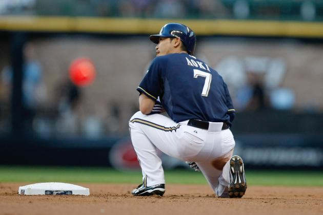 Milwaukee Brewers: Breaking Down Norichika Aoki's Success at the Plate in 2012