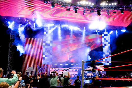 WWE News: Is the WWE Planning to Unveil New Set for Monday Night Raw Next Month?