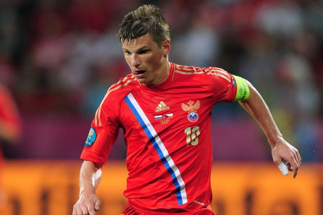Andrei Arshavin Makes Strong Case to Start at Attacking Midfielder for Arsenal