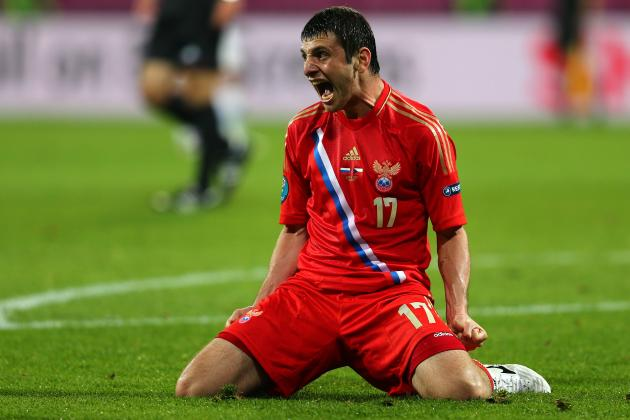 Euro 2012 Scores: Russia's Dominance Proved They Are Team to Beat in Group A