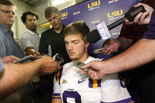 LSU Football: Adversity That Zach Mettenberger Will Face as Tigers' Starting QB