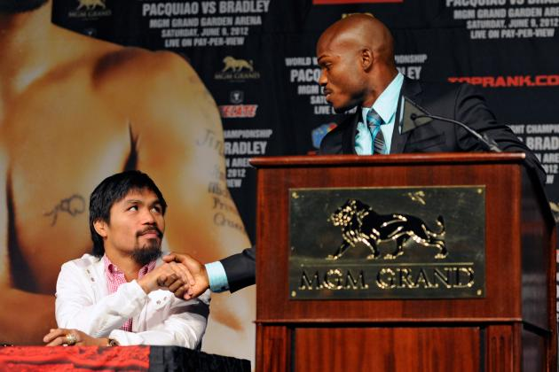 Pacquiao vs Bradley: Bradley Comes in 146, Pacquiao a Surprising 147