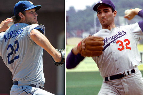 Comparing Clayton Kershaw, Sandy Koufax at Same Point of Their Careers