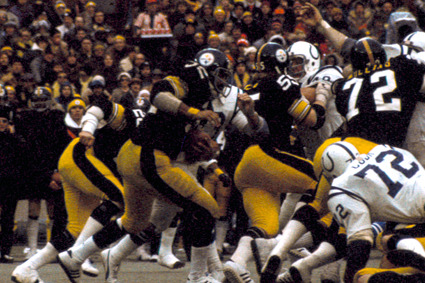 Pittsburgh's Forgotten Classics: Colts vs. Steelers, 1975