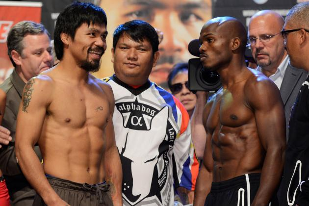 Manny Pacquiao vs. Timothy Bradley: On Lumberjacks and Breaking Towers