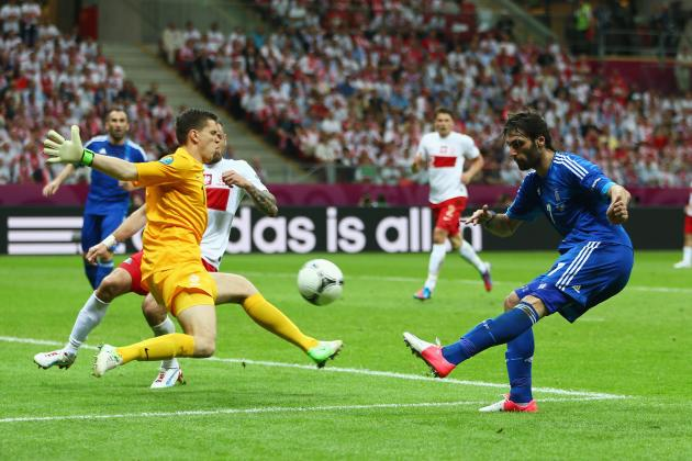 Euro 2012: Arshavin on Fire and Szczesny's Bad Day Goes Worse