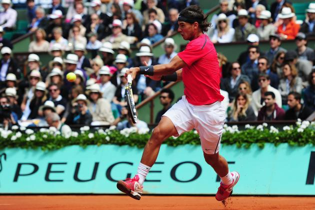 French Open 2012: How Rafael Nadal Trains His Forehand