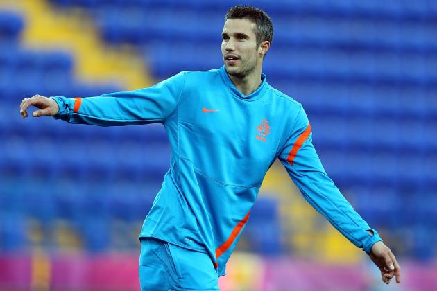 Netherlands Announce Starting 11, Van Der Vaart out