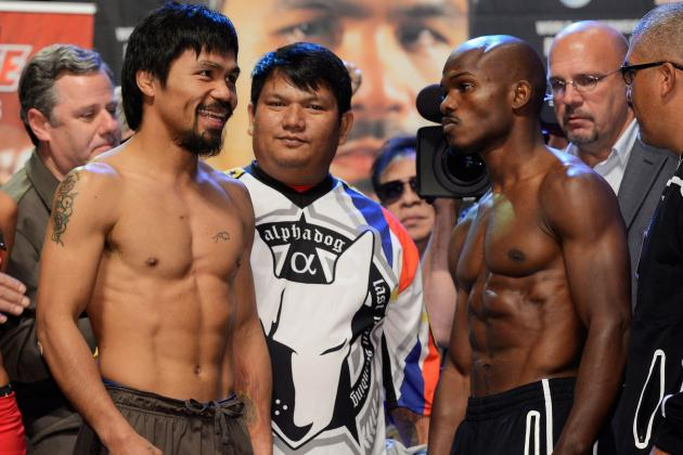 Pacquiao vs. Bradley Purse: Expected Payouts for Both Fighters