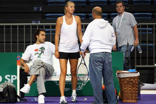 Maria Sharapova Boyfriend: Sasha Vujacic Conspicuously Absent in Victory Speech