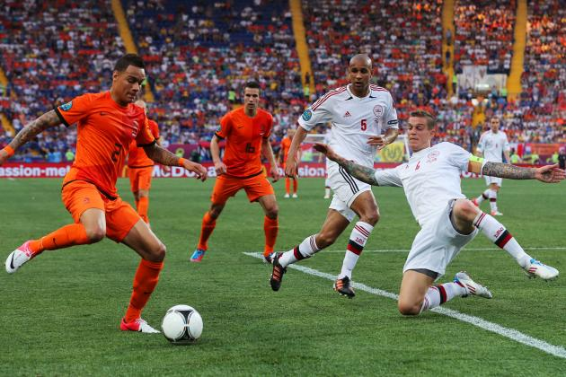 Euro 2012: Denmark Captain Daniel Agger Shines in 1-0 over Holland