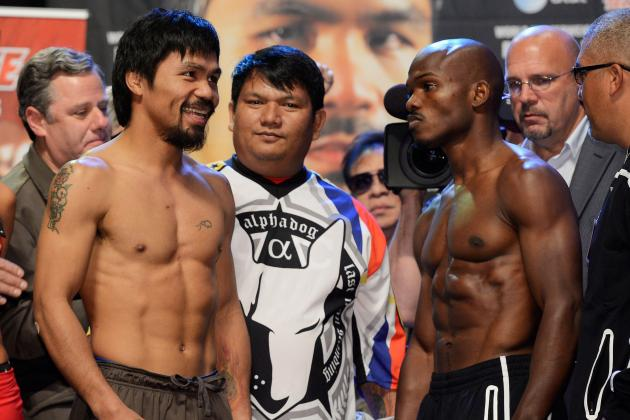 Pacquiao vs. Bradley Odds: Best Vegas Bets for Each Fight