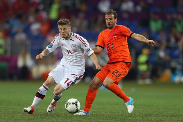 Euro 2012 Scores: Netherlands' Loss to Denmark Ruins Dutch Hopes of Advancing
