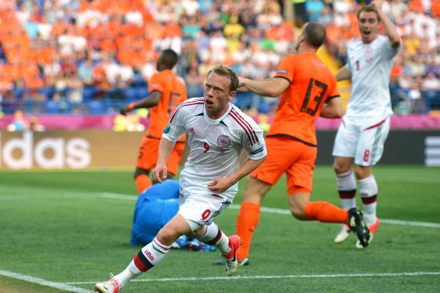 Netherlands vs. Denmark: Rating the Danish Players in Euro 2012 Group B