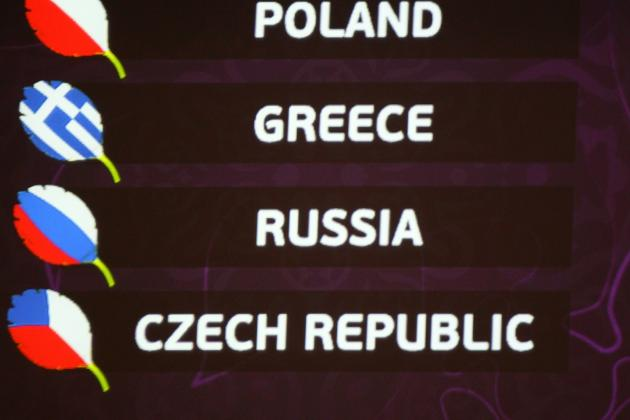 Euro 2012: Group A Preview: Poland, Russia, Greece, Czech Republic