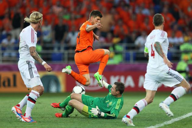 Euro 2012 Soccer: The Netherlands, Germany, Portugal & Denmark Lacking Life