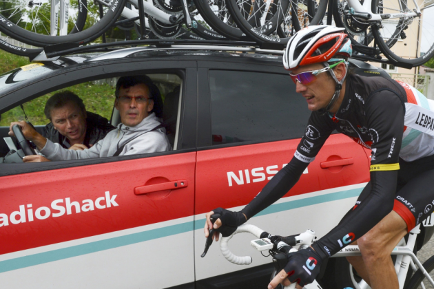 Time to Panic for Andy Schleck, Team RadioShack-Nissan-Trek?