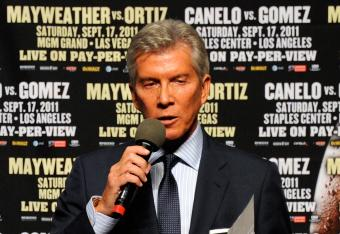Michael Buffer, legendary ring announcer