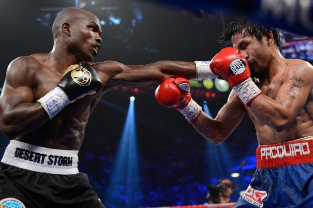 Pacquiao vs. Bradley: Bradley Pulls off Shocking Upset over Pacquiao