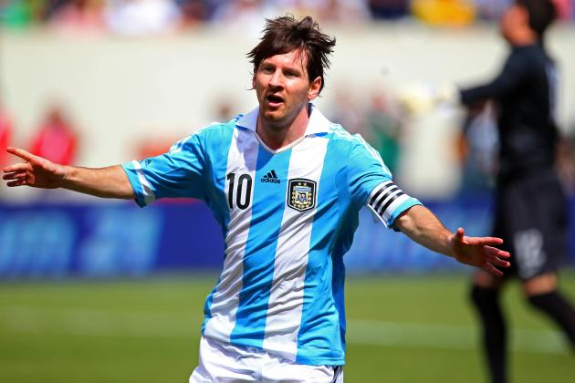 The Hat-Trick! Lionel Messi v Brazil