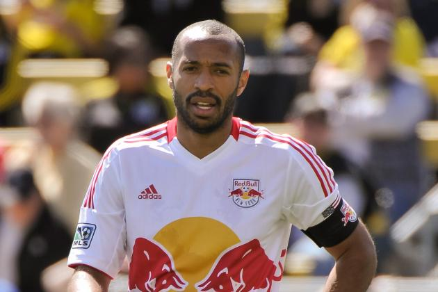 Thierry Henry Exclusive: New York Red Bulls Striker Talks MLS, Arsenal and More