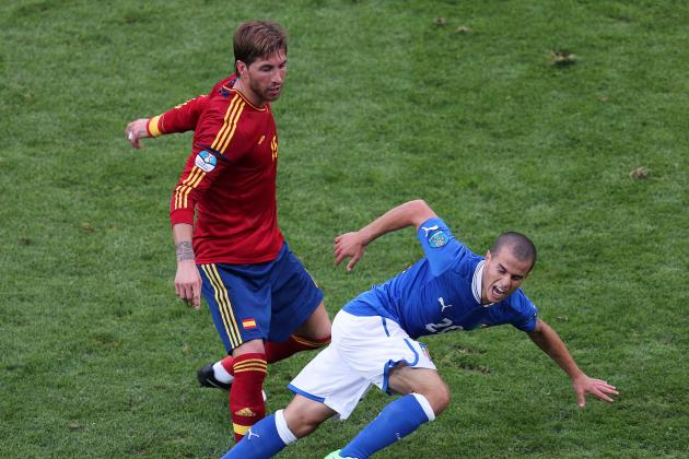 Spain vs. Italy: Analyzing the 'False Nine' and 3-Man Central Defence