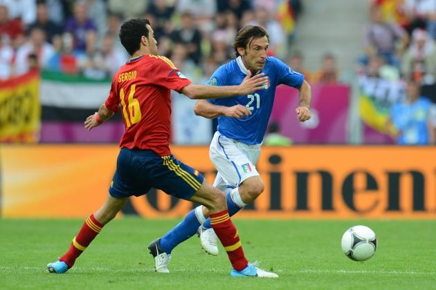Spain vs. Italy Euro 2012: Why Andrea Pirlo Was the Man of the Match