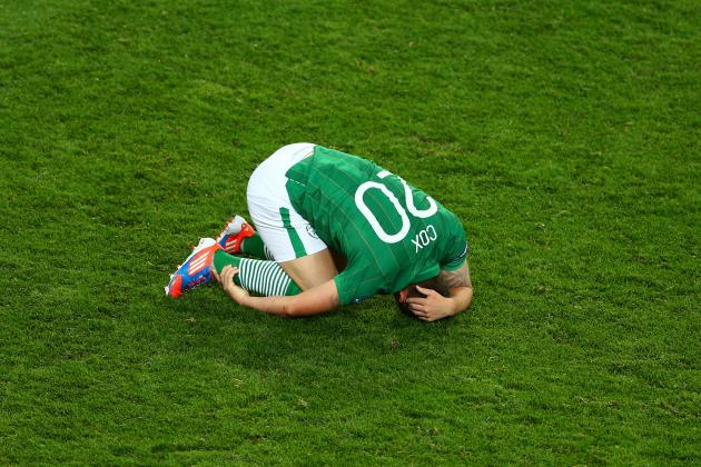 Euro 2012: Irish Run out of Luck Against Croatia in Poznan