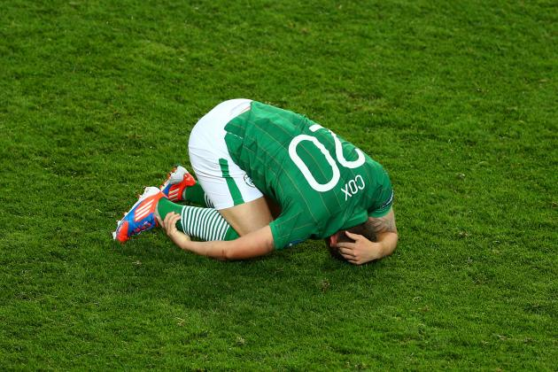 UEFA Euro 2012: Is Republic of Ireland Worst Team of Tournament so Far?