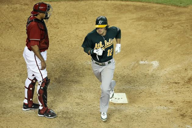A's Fail to Avoid Sweep in 4-3 Loss to Diamondbacks