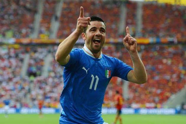 Euro 2012: Group C's Italy, Spain and Croatia Provide Spark
