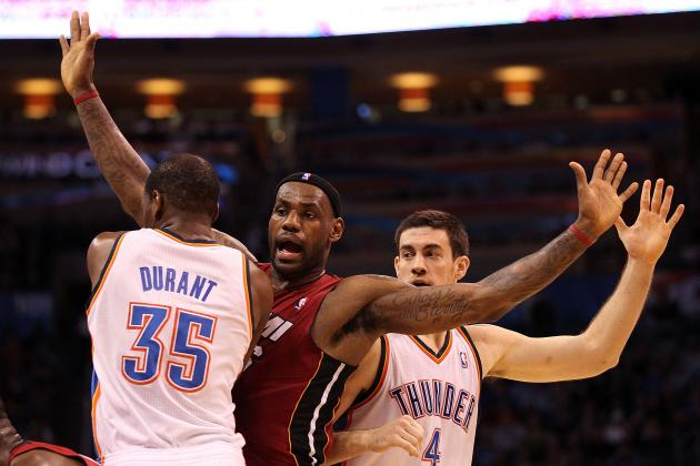 Miami Heat vs. Oklahoma City Thunder Is Black and White in the Finals