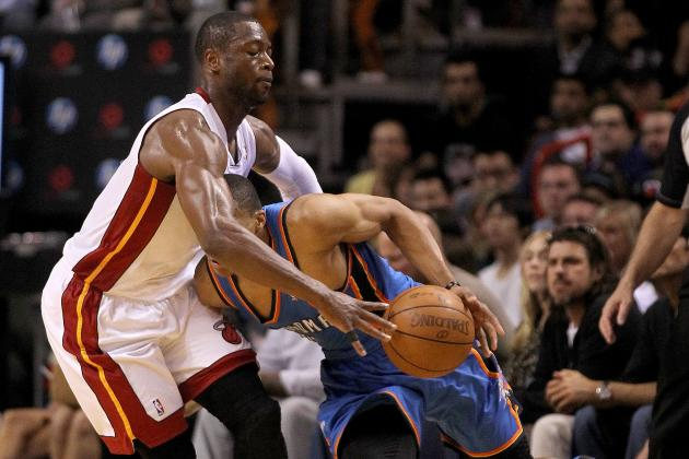 NBA Finals 2012: Russell Westbrook vs. Dwyane Wade Will Be Key to Championship