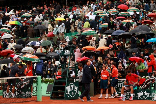 French Open 2012: No Roofs, No Lights, No Service